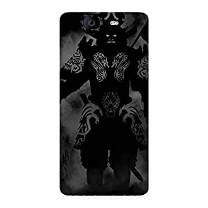 Ghost Warrior Back Case Cover for Canvas Knight A350