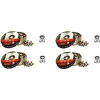 4 latas de 250 perdigones Gamo Match Diabolo de Copa 5,5mm. Modelo 320025