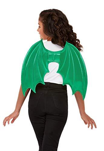 Smiffys 47720 Dragon Wings, Unisex Niños, Verde