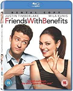 [Import Anglais]Friends With Benefits Rental Blu-Ray