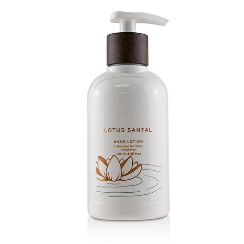 Thymes Lotus Santal Hand Lotion - Natural Body Hand 240 ml 8.25 fl oz by Thymes