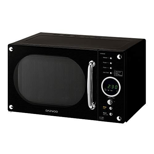 41p9euNFQEL. SS500  - Daewoo KOR8A9RBR Retro Design Microwave, Digital, Auto Defrost, 5 Power Control Levels, 4 Auto Cook Programmes, 800 W…