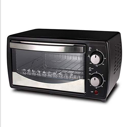 BTSSA Horno eléctrico de sobremesa,Microondas con Grill,700W, 12 litros,Ventana y función Horno...