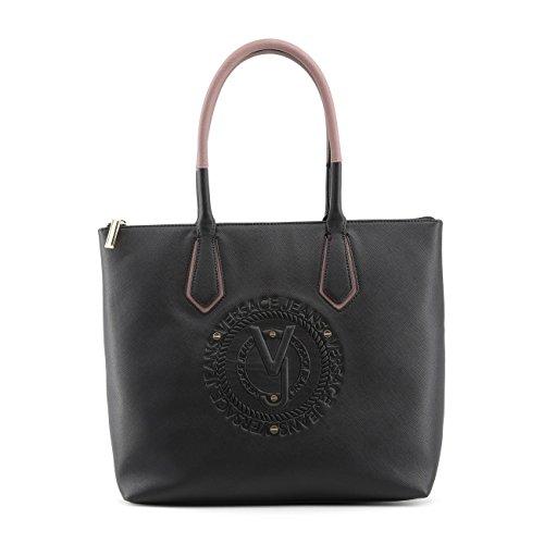 Versace Jeans - Borsa Versace Jeans grigio logo - E1VQBBQ1Grigio Black
