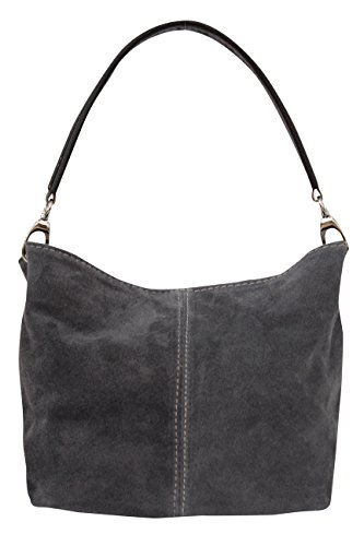 AMBRA Moda, Borsa a mano donna Medium Anthrazit