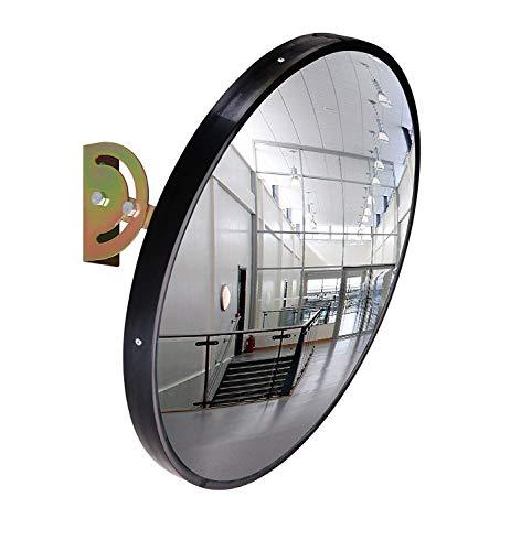 Smartwares 10.016.09 (mirror45) Specchio di sorveglianza-45 cm di Diametro, Nero