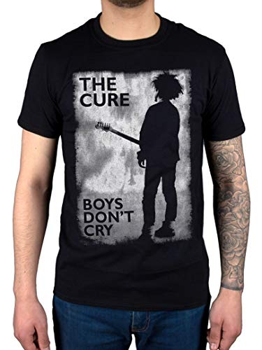 Official The Cure Boys Don't Cry T-Shirt