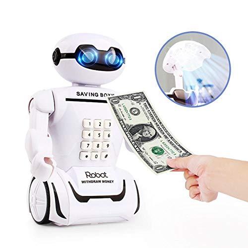 Hucha electrónica Caja Fuerte Ahorro Robot Caja Dinero