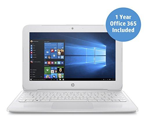 HP Stream 11y003na 116inch Laptop Snow White Intel Celeron N3060 2GB