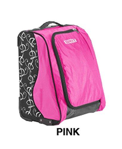 """GRIT SPECIAL SKATING TOWER BAG 20"""" (rosa) Maleta-Trolley especial para patinaje dispuesta como un armario"""