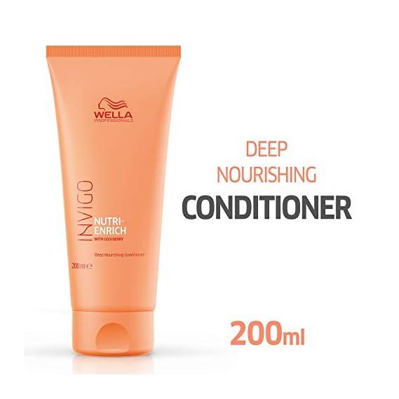 Wella Professionals Invigo Nutri Enrich Deep Nourishing Conditioner (For Dry and Damaged Hair), 200 ml