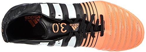 Adidas - Nitrocharge 3.0 Indoor, Scarpe Da Calcio da uomo Nero (core black/ftwr white/flash orange s15)