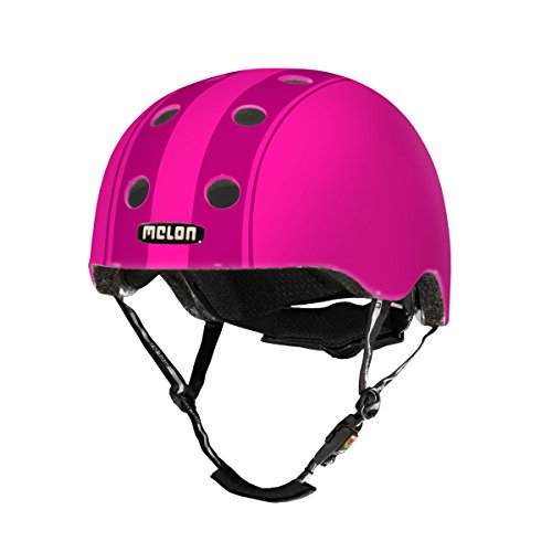 Melon Helm Decent double purple XXS-S, 46-52cm