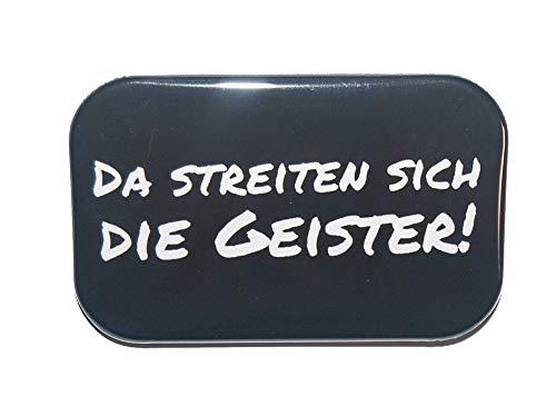 Magnet Kühlschrankmagnet Rechteckig eckig groß ca. 7 x 4,5 cm gute Haftung Motiv: Spruch Lustige verdrehte Redewendungen
