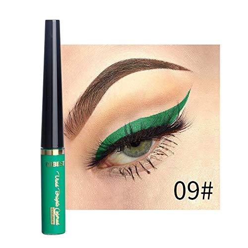 Mitlfuny Black Friay DE Cyber Monday DE,Beauty Metallic Shiny Smoky Eyes Lidschatten Wasserdichter Glitzer Liquid Eyeliner