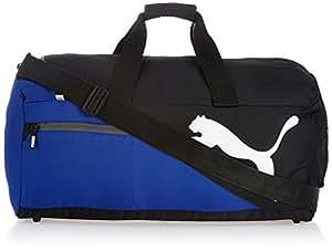 Puma Polyester Black and Blue Travel Bag (7339503)