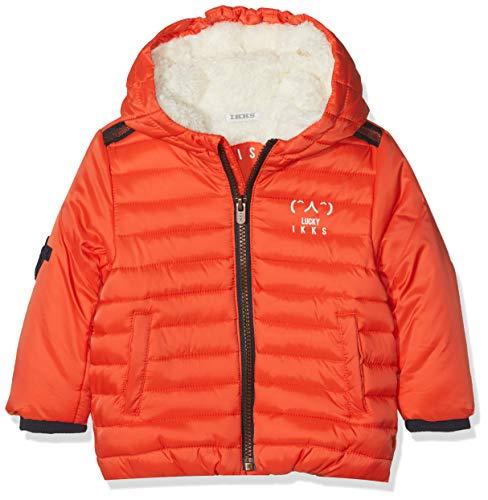IKKS Junior Doudoune, Blouson Bébé garçon, (Orange Moyen 76), 12-18 Mois (Taille Fabricant: 18M)