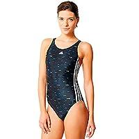 6a82235b5b72e0 adidas 3S 1PIECE Swimsuit Badeanzug Sport & Freizeit Schwimmanzug SCHWARZ  Weiss