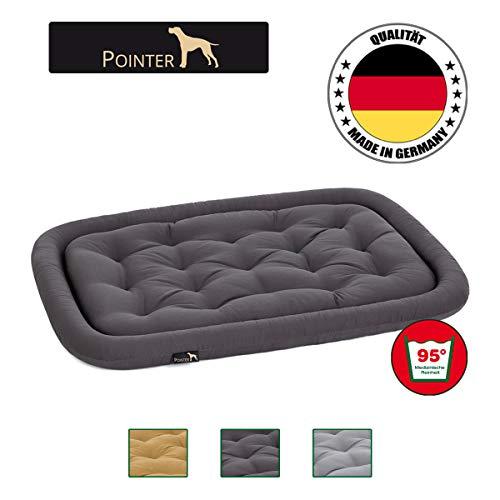 POINTER orthopädisches Hundekissen - beidseitig verwendbar - bei 95°C im Ganzen waschbar - Trockner geeigent - Premium Qualität; Größe und Farbe wählbar