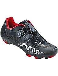 Northwave BLAZE PLUS carretera SPD zapatos blanco-rojo-negro, schuhgröße:gr. 42