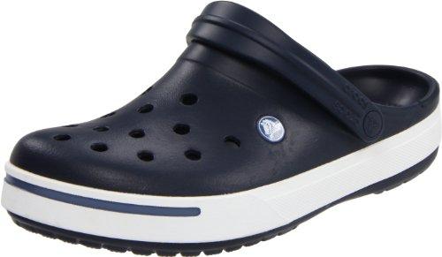 Crocs Crocband II, Sabots mixte adulte Bleu (Navy/Bijou Blue)