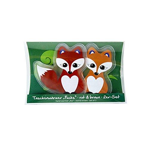 Preisvergleich Produktbild Taschenwärmer Fuchs 2er Set