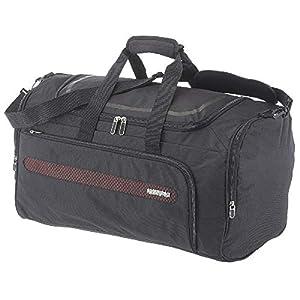 American Tourister Airbeat – Duffle Bag 55/22 Bolsa de Viaje, 55 cm, 51.5 Liters, Negro (Universe Black)