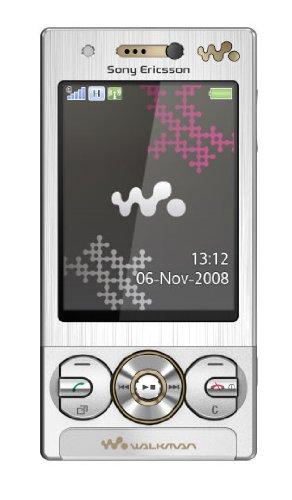 Sony Ericsson W705 Handy (WiFi, 4 GB Speicherkarte, UKW-Radio, HSUPA) luxury silver (Sony Walkman Ukw-radio)