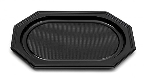 Inde Catering- Trays schwarz, 550 x 360 x 30 mm, 1167, 10 Stück Catering-tray