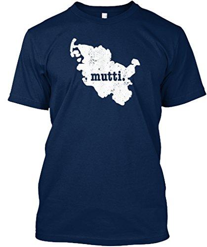 teespring Men's Novelty Slogan T-Shirt - Schleswig Holstein Germany Mother Mutti