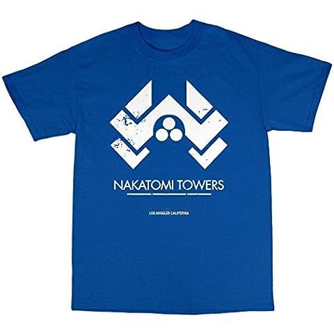 Nakatomi Towers T-Shirt Uomo