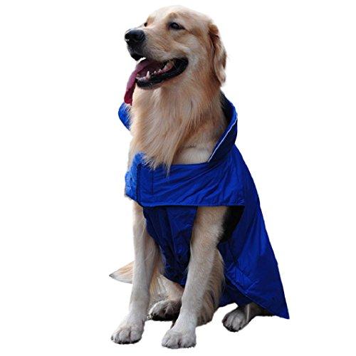 Malloom® Cane Vestiti Maglione Caldo Cane Camicie Gilet per Cani Grandi Cappotto Cane Felpa Abbigliamento Impermeabile (L)