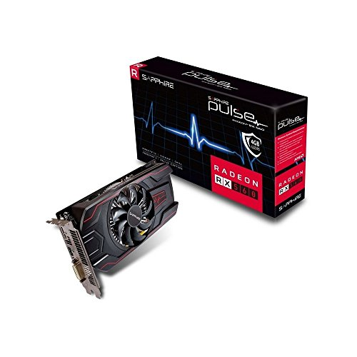 Price comparison product image SAPPHIRE RX 560 Pulse 4 GB GDDR5 PCI Express 3.0 Graphics Card - Black