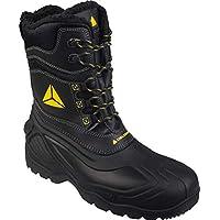Delta-Plus Eskimo Mens Waterproof Tall Safety Composite Toe/Midsole Boots , Black, 9 UK
