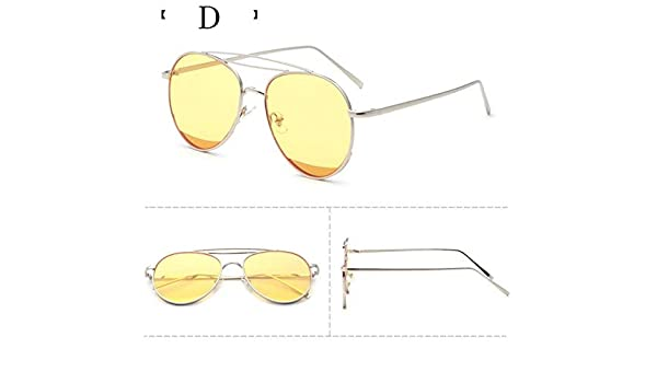 36fc8a039a7 Bharat Ventures D  2017 South Korea Sunglasses Restoring Round Face Female  Tide Star Strong Person  Amazon.in  Clothing   Accessories