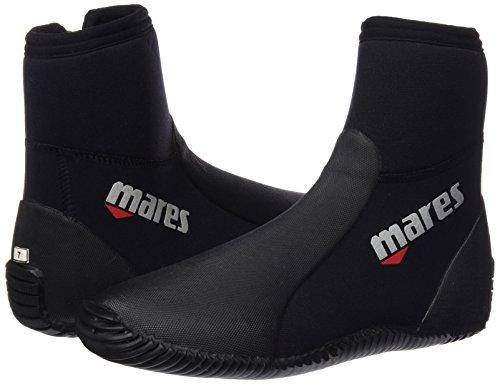 Mares adultes füßling Dive Boots Classic NG 5mm Noir - Noir/Gris