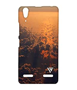 Vogueshell Cloud Printed Symmetry PRO Series Hard Back Case for Lenovo A6000