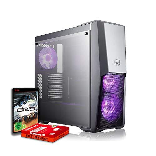 Fierce Invader RGB Gaming PC - Schnell 4.1GHz Hex-Core Intel Core i5 9400F, 240GB Solid State Drive, 1TB Festplatte, 16GB 3000MHz, NVIDIA GeForce RTX 2060 6GB, Windows Nicht Enthalten 1061319 - 16 Gb Solid State-festplatte