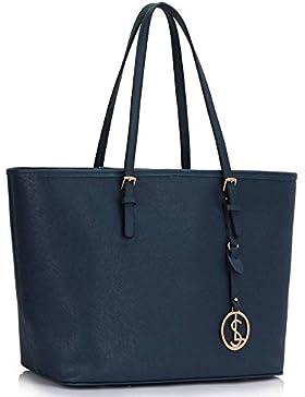 Trendstar Frau Entwerfer Handtasche Damen Patent Mode für Leinentrage Tasche