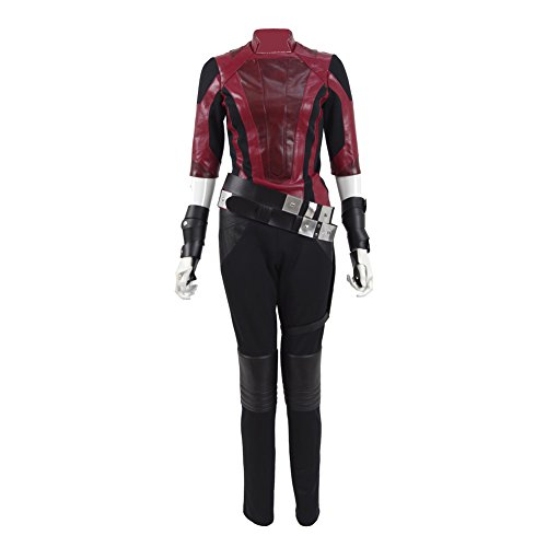CosDaddy ® Cosplay Damen Kostüme Leder (M, (Gamora Kostüm Cosplay)
