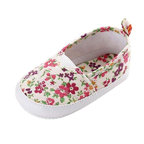 Zapatos Bebé SMARTLADY Primeros pasos Zapatillas para Infantil Recién Niñas (12-18 meses)