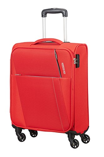 AMERICAN TOURISTER Joyride - Spinner 55/20 Equipaje de mano, 55 cm, 37.5 liters, Rojo (Flame Red)