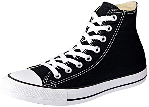 Converse Ctas Core Hi, Baskets mode mixte adulte, Noir, 38 EU