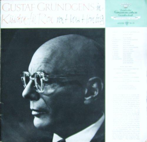 Gustaf Gründgens in KIRSCHEN FÜR ROM von Hans Hömberg [Vinyl LP] [Schallplatte]