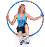ResultSport® Level 3 Foam Padded Weighted 2kgs (4.4lb) Fitness Exercise Hula Hoop 100cm wide
