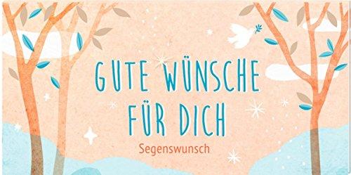 Pop-up-Büchlein mit Kuvert - Gute Wünsche für dich: Segenswunsch