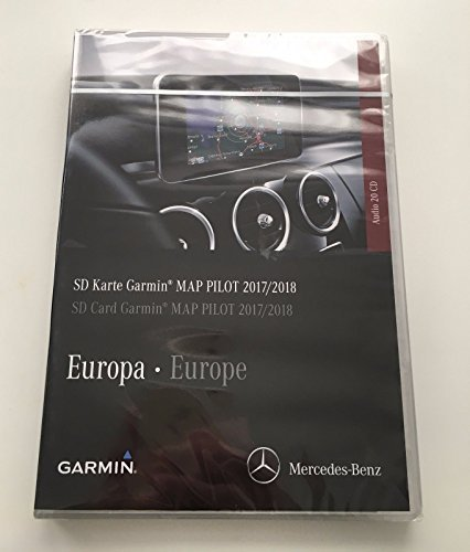 V9 Kartenmaterial 2017 / 2018 für MAP PILOT SD Card Audio 20 CD TOUCHPAD - A2189061903