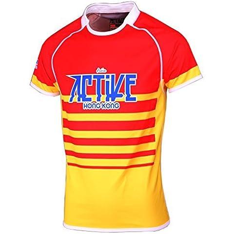 Torneo de prendas de vestir Deportes Hombres camiseta Atleta poliéster Reino Unido Rugby Jersey