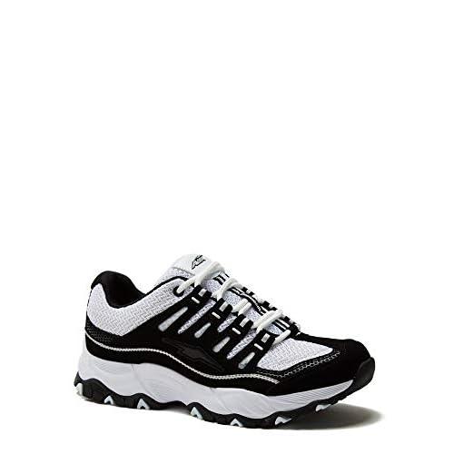 41pA3ShLnEL. SS500  - Avia Women's Elevate Performance Athletic Shoe, Wide Width with Memory Foam Insole Black