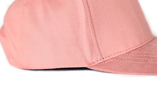 Casquette Lenger - Cotton Visière Daim Résistant Rose Rose